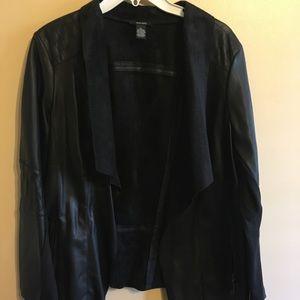 Alfani Faux Leather Suede Jacket NWT - M